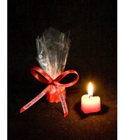 Декоративна свещ - сърце