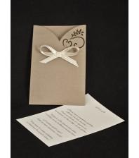 Сватбена покана лазер 2