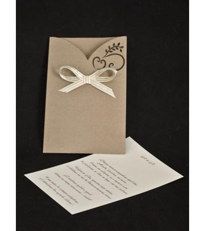 Сватбена покана лазер 2 Сватбени Покани