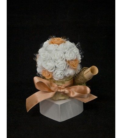 Подарък - покана кумска 7 Сватбени Покани