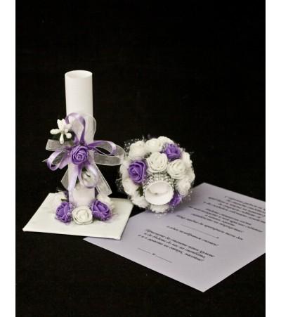 Подарък - покана кумска 9 Сватбени Покани