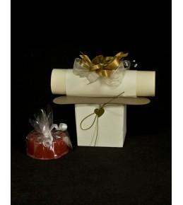 Подарък - покана кумска 3