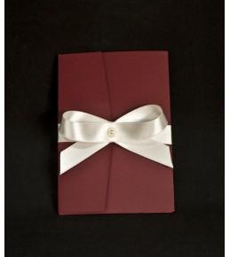 Сватбена покана лукс 07