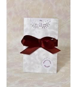 Сватбена покана лукс 02