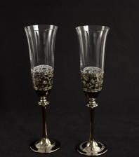 Ритуални чаши С38 злато