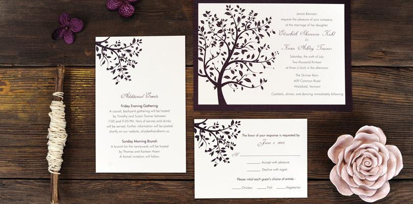 Примерни текстове за сватбени покани